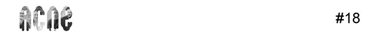Logotipo da ACNE