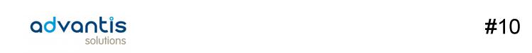 Logotipo da advantis