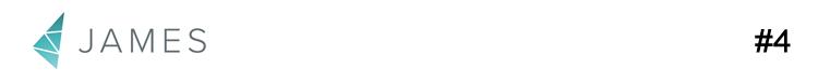 Logotipo da james